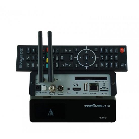 Zgemma H9.2H STB 4K Enigma2 WiFi