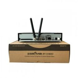 Zgemma H9 Combo STB 4K Enigma2 WiFi