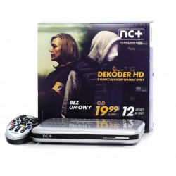 Telewizja Na Kartę NC+  Dekoder ADB 2849 12 miesięcy TV FREE
