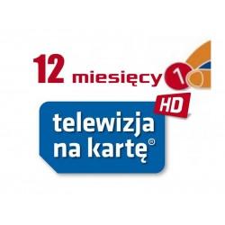 Doładowanie NC+ Telewizja Na Kartę 12m