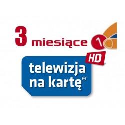 Doładowanie NC+ Telewizja Na Kartę 3m