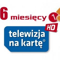 Doładowanie NC+ Telewizja Na Kartę 6m