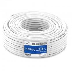 Kabel deleyCON 130dB 4x Shielding  100m PVC