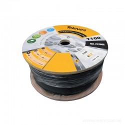 Kabel TELEVES T-100 PE ref 212501  rolka 100 mb Cu/Al