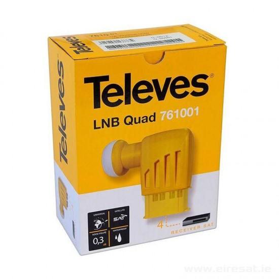 LNB QUAD TELEVES model 761001